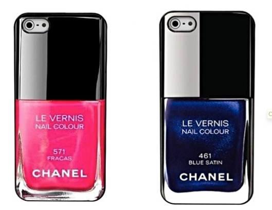 CHANEL Nail Lacquer Cases. My friend Kelsey saw these on Shefinds.com. Click the pic to see their curated selections of faves.